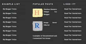 how to add 3 column footer in blogger template