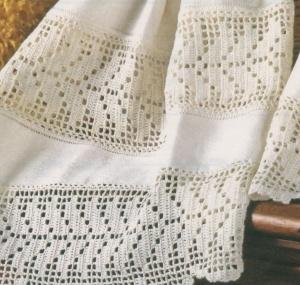 Professione donna schemi per il filet tramezzi e bordi for Schemi bordure uncinetto per lenzuola