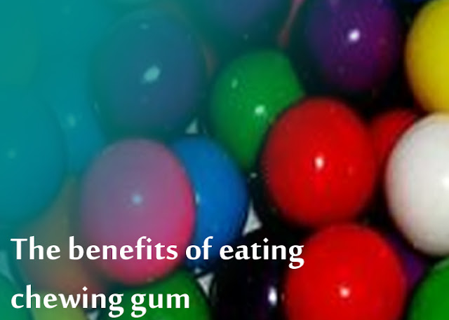 The Benefits Gained When Chewing Gum