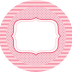So Girly in Pink: Free Printable Kit.