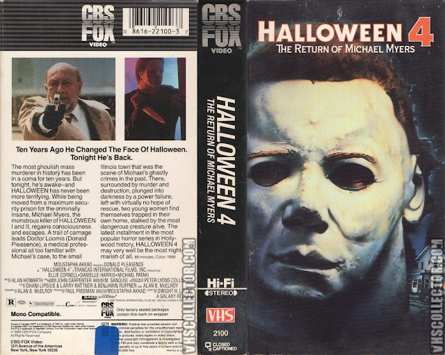 Halloween 4: The Return of Michael Myers (1988) | VHS Revival