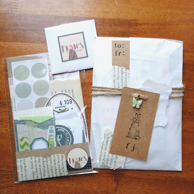 Bullet journal nature-themed stickers and vintage ephemeras for 2021