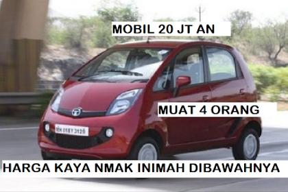 Mobil Cuma Rp 20 Jutaan Muat 4 Orang Pakai AC Bensin Super Irit Bablas Masuk Tol Harganya Lebih Murah dari Yamaha NMAX