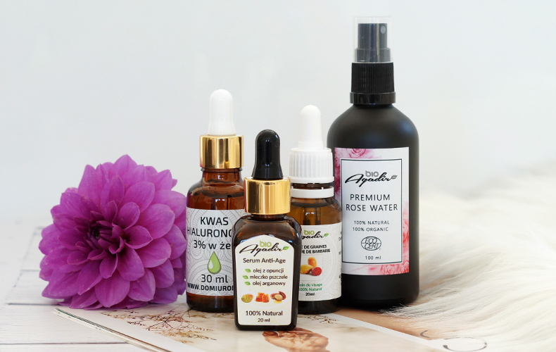 Bio Agadir. Pielęgnacja skóry naturalnymi olejami. Bestsellerowe serum przeciwzmarszczkowe z opuncją figową i mleczkiem pszczelim.