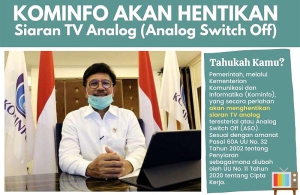 Migrasi TV Analog ke TV Digital