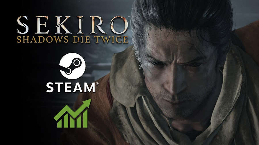 sekiro shadows die twice steam most played 2019 pc action-adventure game lone wolf from software activision