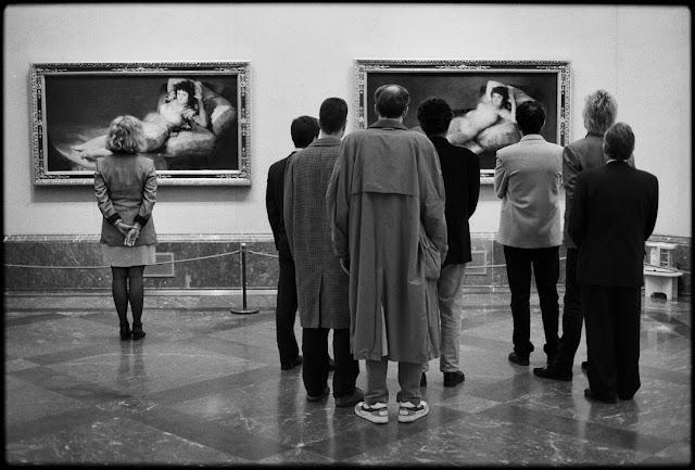 Elliott Erwitt, Prado Museum, Spagna, Madrid, 1995