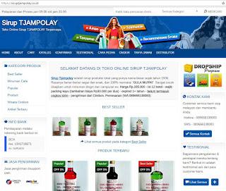 sirup tjampolay | sirup campolay
