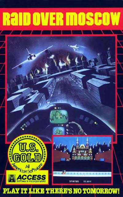 Portada videojuego Raid over Moscow