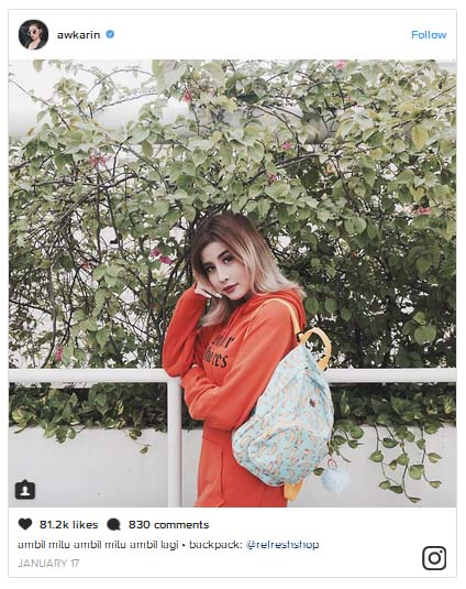 jenis macam social media influencers marketing endorser instagram ngehits populer terkenal artis selebgram selebriti promosi produk paid promote pp foto video gratis harga nego blogger fashion beauty vlogger model photoshoot