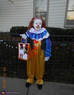 Pennywise Clown Kids Costume