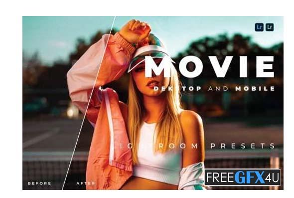 Movie Desktop and Mobile Lightroom Preset