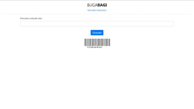 PHP Barcode Generator