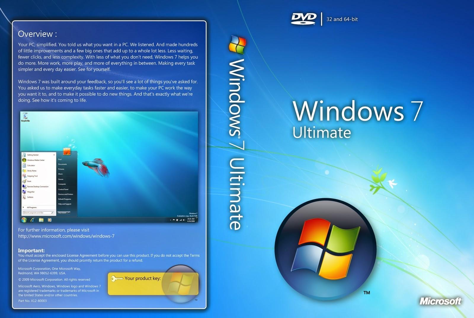 free download cover designer  microsoft windows 7 ultimate