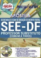 Apostila Concurso SEE DF 2017 Professor Substituto