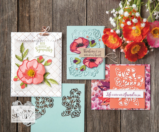Peaceful Poppies bundle Stampin Up