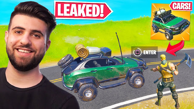Cars in Fortnite: Leaked Data Provides Insight
