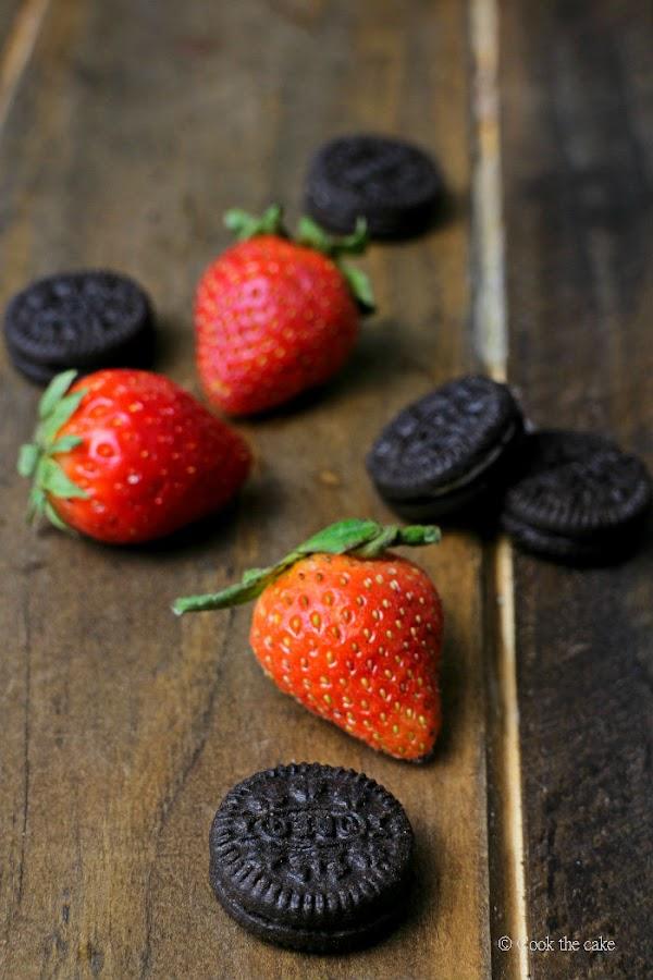 fresas, strawberry, oreo