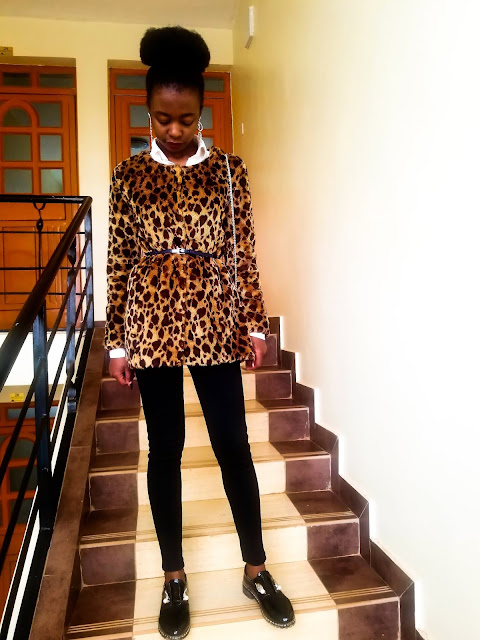 A Simple Idea On How To Wear A Leopard Print Coat