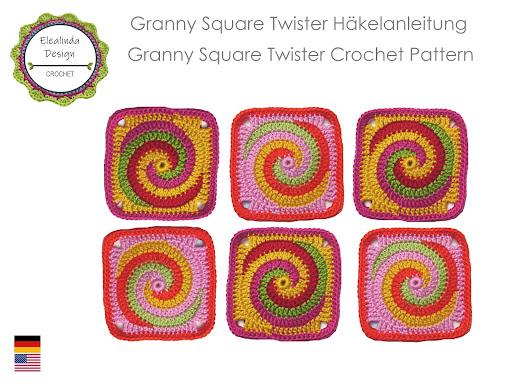 Ebook: Granny Square TWISTER