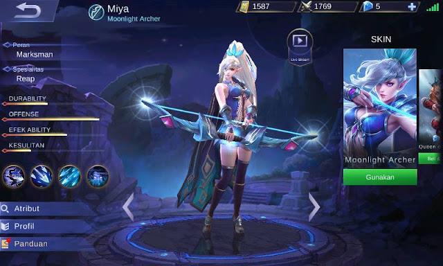 Best Build Miya Mobile Legends - Mudah Mendapat Savage