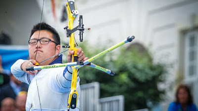 South Korean Archer Kim Woojin Sets First World Record at Rio 2016 Olympic Games