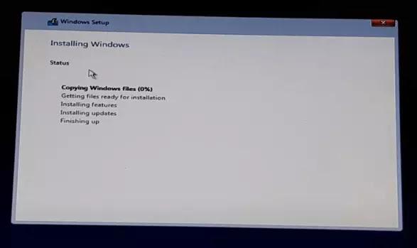 تثبيت ويندوز 10 pro