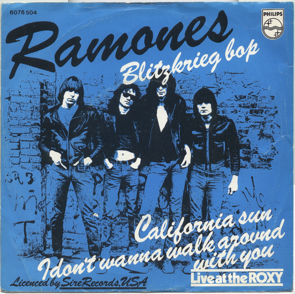 Ramones On Vinyl Blitzkrieg Bop All Versions