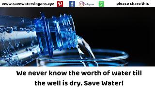 save water slogans 13
