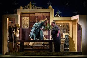 Mozart: The Seraglio - Nazan Fikret; Matthew Stiff - English Touring Opera 2019 (Photo Jane Hobson)