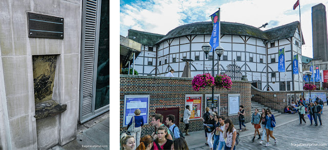 Southwark, Londres: banco de pedra usado por barqueiros que faziam a travessia do Rio Tâmisa no Século 16