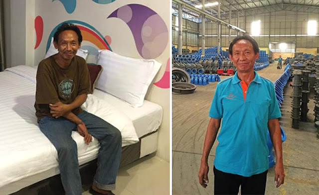 Бездомный таец вернул кошелек владельцу и в благодарность получил работу и квартиру
