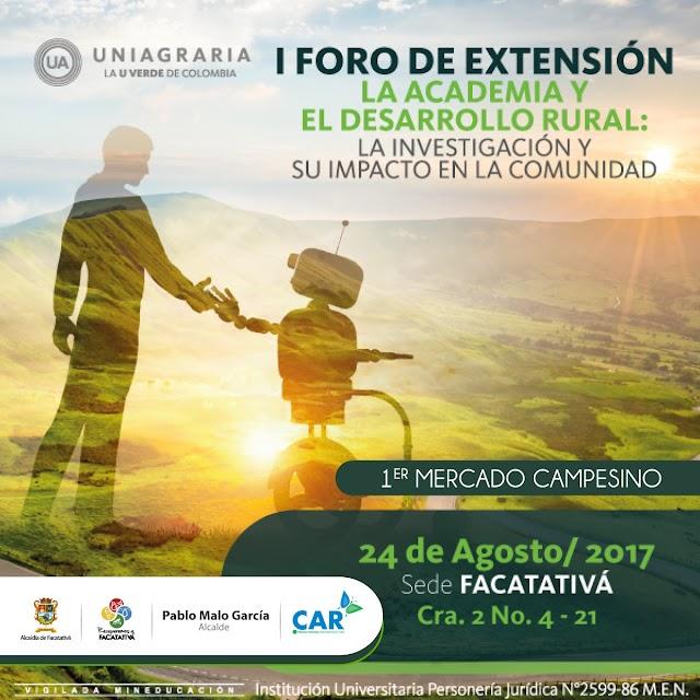 Primer foro de desarrollo rural en Facatativá