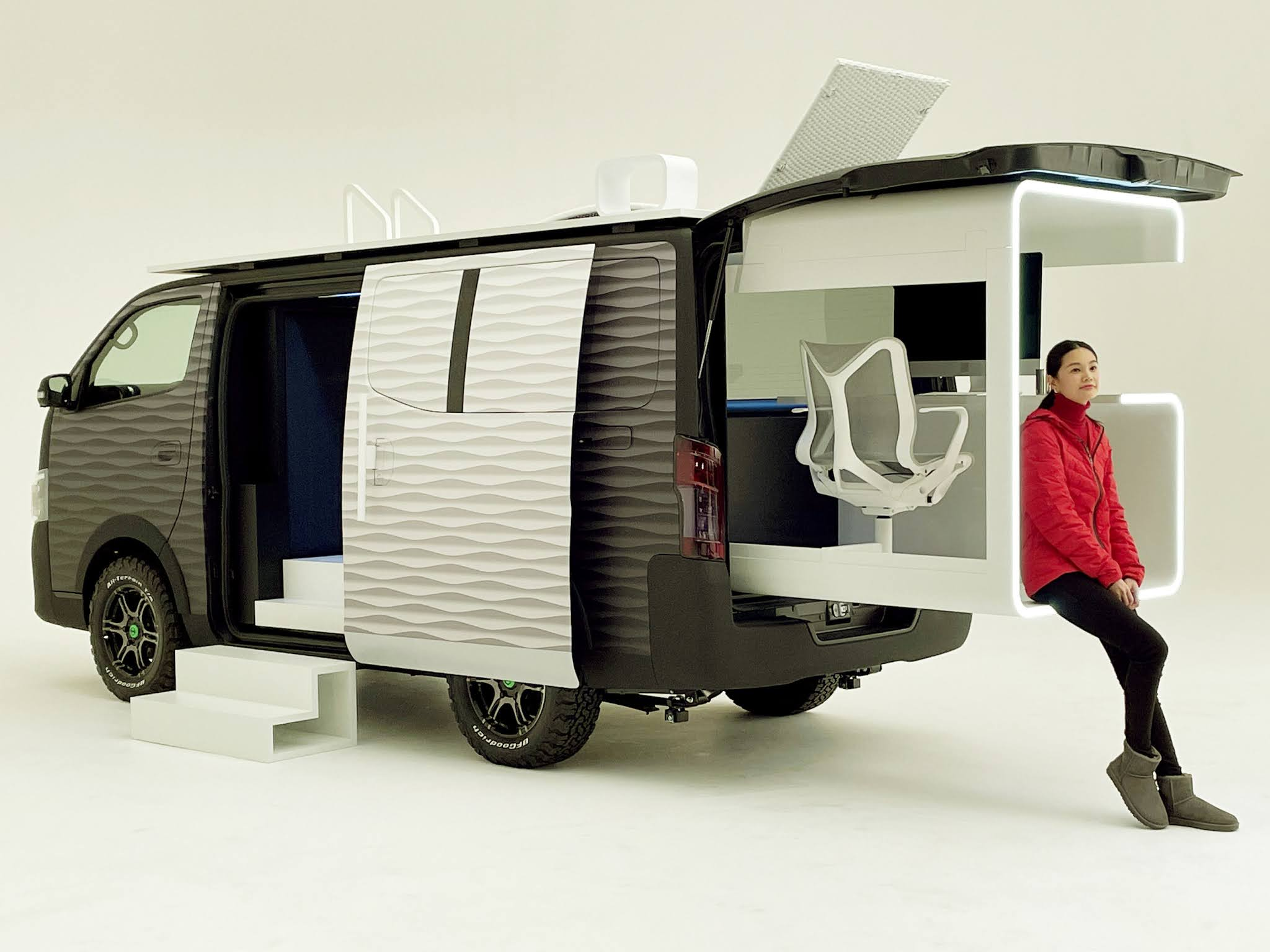 Nissan's Newest Concept Car Creates the Ideal Office With Everything You Need to Work Anywhere