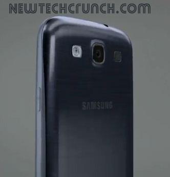 Samsung Galaxy s3 design features