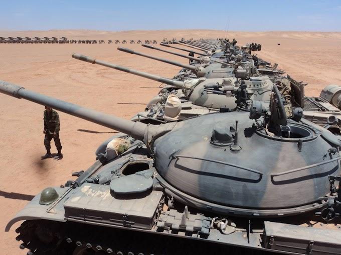 🔴 البلاغ العسكري رقم 105: الجيش الصحراوي يستهدف مجددا قوات الإحتلال في منطقة تويزگي