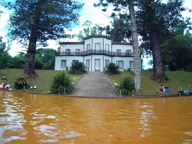 Casa do Parque en el Jardín Botánico de Furnas (Açores)