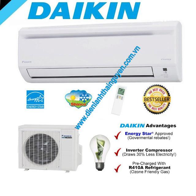 Danh sách mã lỗi điều hòa Daikin inverter