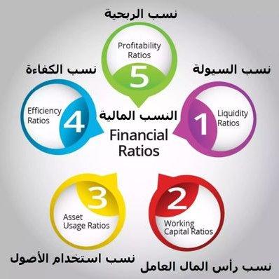 انواع النسب المالية
