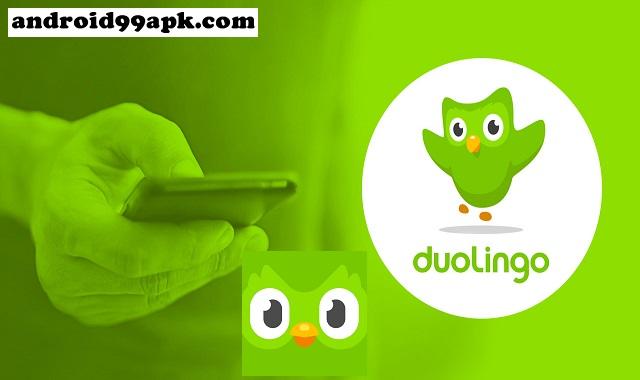 تطبيق Duolingo v4.77.1 لتعلم الانجليزية ولغات أخرى بحجم 17 ميجابايت للأندرويد
