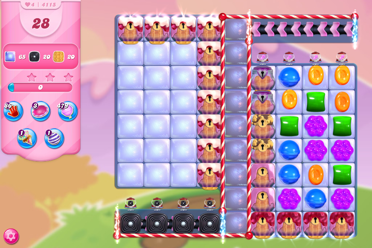 Candy Crush Saga level 4115