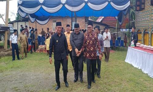 Wabup RJM : Rumah Kudam Sungai Kambut Situs Sejarah  Di Kabupaten Dharmasraya.