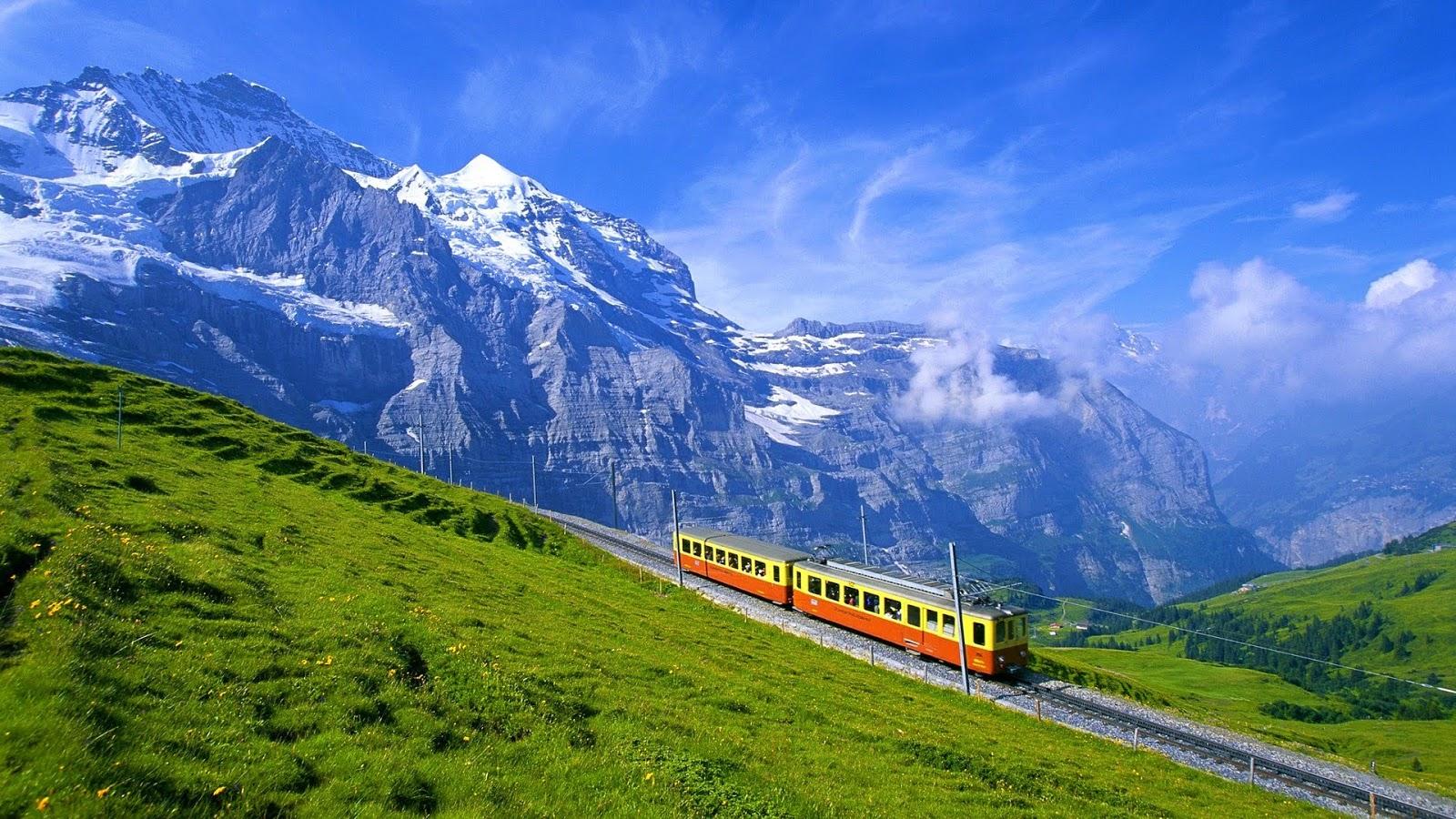 красивые места швейцария фото