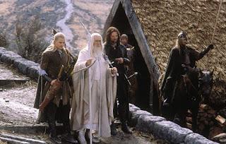 Legolas, Gandalf y Aragorn