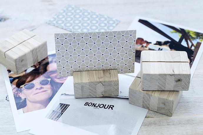Ynas Design Blog Bilderhalter Visitenkartenhalter