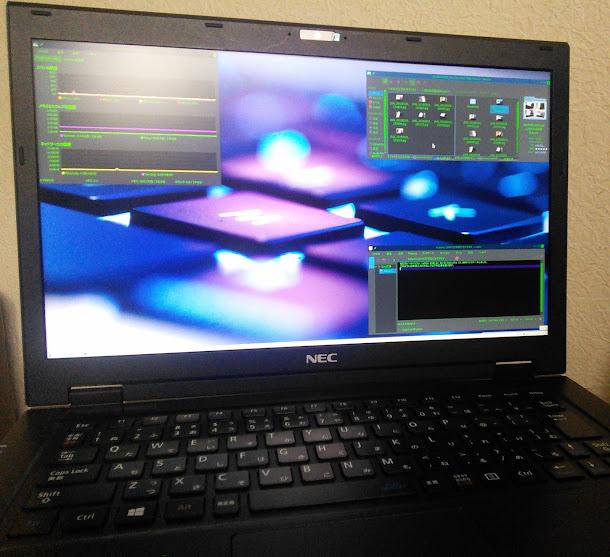 軽量ノートパソコン NEC LaVie Hybrid ZEROにLinux Kubuntu 16.04をインストール