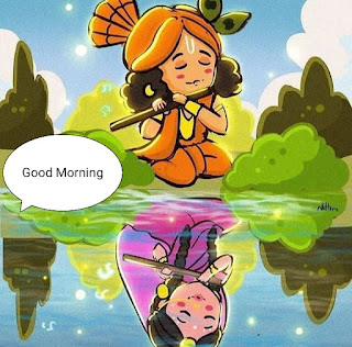 good morning radha krishna images