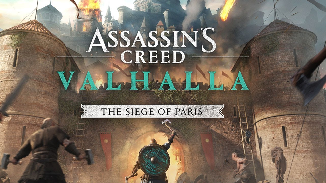 ASSASSIN'S CREED VALHALLA'S NEXT MAJOR EXPANSION, THE SIEGE OF PARIS, RELEASES ON 12th AUGUST