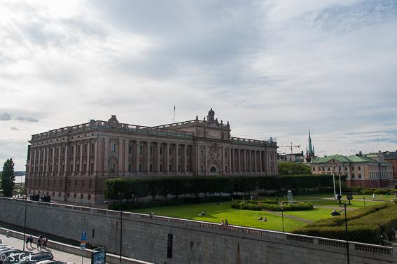 Palacio real en Estocolmo. 7 cosas que no te puedes perder en Estocolmo