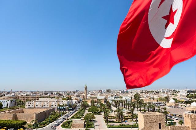 Тунис, национальный флаг